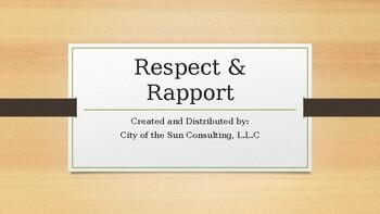 Respect & Rapport Presentation