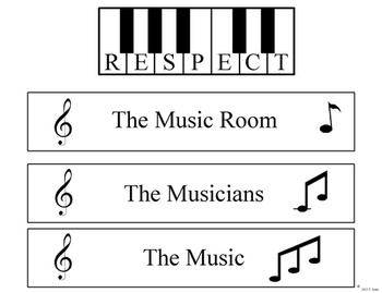 Respect Rules for the Music Room