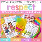 Respect & Gratitude K-2 - Social Emotional Learning & Character Education