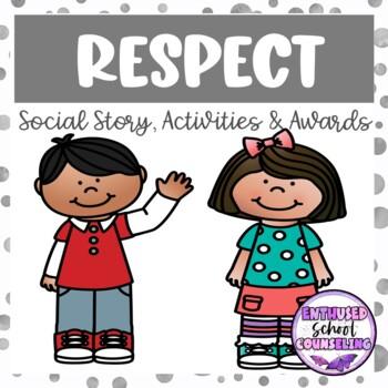 Respect Social Story- No Prep- Just Print K-2