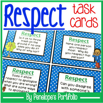 Respect Task Cards