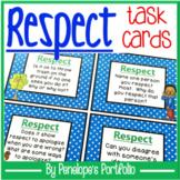 Respect Activity:  Social Skills Task Cards