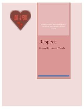 Respect Worksheets