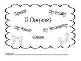Respect book - Character Education