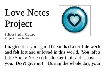 Respect for Others - The Love Notes Project