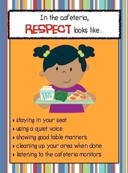 """Respect looks like..."" Posters & Flip Book Bundle"