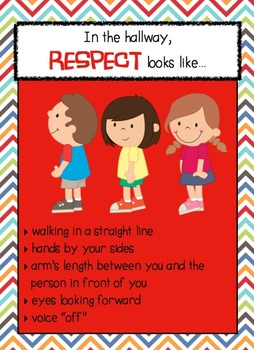 Respect looks like... Posters & Flip Book Bundle