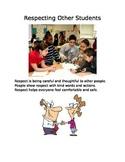 Respect social story