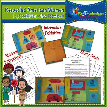 Respected American Women Lapbook