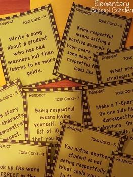Respectful - Go Character Ed - Positive Behavior Traits