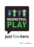Respectful Play - Decal