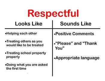 Respectful Poster