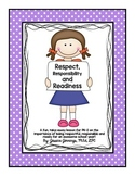 Respectful, Responsible, Ready Lesson Plan