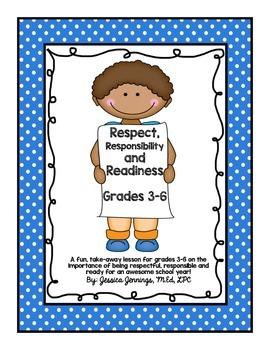 Respectful, Responsible, Ready Lesson Plan
