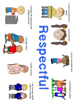 Respectful, Responsible, Safe - Classroom Rule Posters