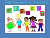 Respectful vs. Self-respect (Self-esteem)