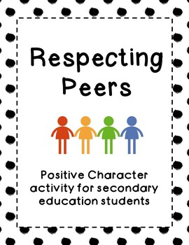 Respecting Peers: Positive Behavior Activity