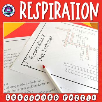 Respiration & Gas Exchange Crossword Puzzle