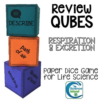 Respiration and Excretion REVIEW QUBES for Life Science
