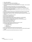 Respiration and Photosynthesis Test Review Questions