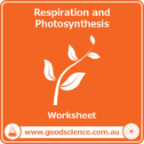 Respiration and Photosynthesis [Worksheet]
