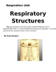Respiratory Structures Lab Report