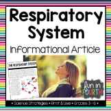 Respiratory System Informational Article