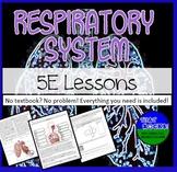 Respiratory System 5E Lesson Plans- No Textbook, No Problem!