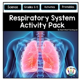 Human Body Systems: Respiratory System Activities & Vocabulary Posters