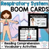 Respiratory System - BOOM CARDS™ for Distance Learning