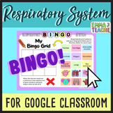 Respiratory System Bingo Game   Google Slides