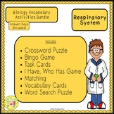 Respiratory System Biology Bundle