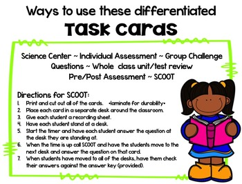 Respiratory System Brain Booster Task Cards