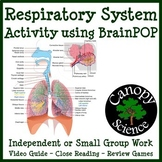 Respiratory System Activity using BrainPOP