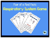 Respiratory System Card Game - four of a kind facts