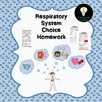 Respiratory System Choice Homework