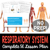 Respiratory System Complete 5E Lesson Plan