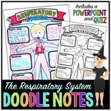 The Respiratory System Doodle Notes | Science Doodle Notes