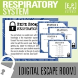 Respiratory System Science Escape Room