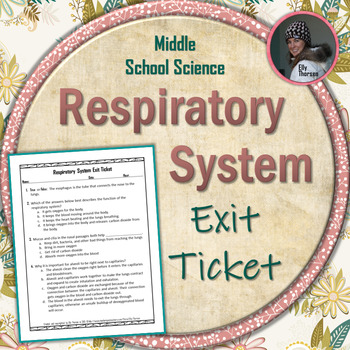 Respiratory System Exit Ticket