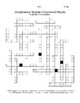 Respiratory System Latin Root Word /Med Term & Crossword Puzzle Activity Bundle