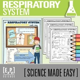 Respiratory System Made Easy- Student Notes and Powerpoint