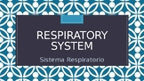 Respiratory System Power Point  With Vocabulary in English
