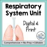 Respiratory System- PPT, Doodle Notes, Diagrams, Lab Activity, & Quiz