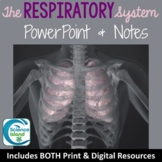 Respiratory System PowerPoint and Notes (Distance Learning)