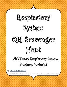 Respiratory System QR Scavenger Hunt