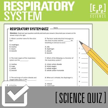 Respiratory System Quiz