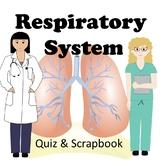 Respiratory System Quiz/Homework/Assessment SPED/ADHD/ODD/AUTISM/ID/ELD