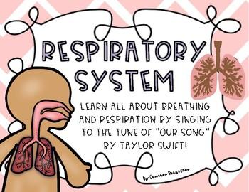 Respiratory System Song Lyrics (Lungs, Breathing, Respiration)
