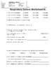 Respiratory System Study Guide Set / Test